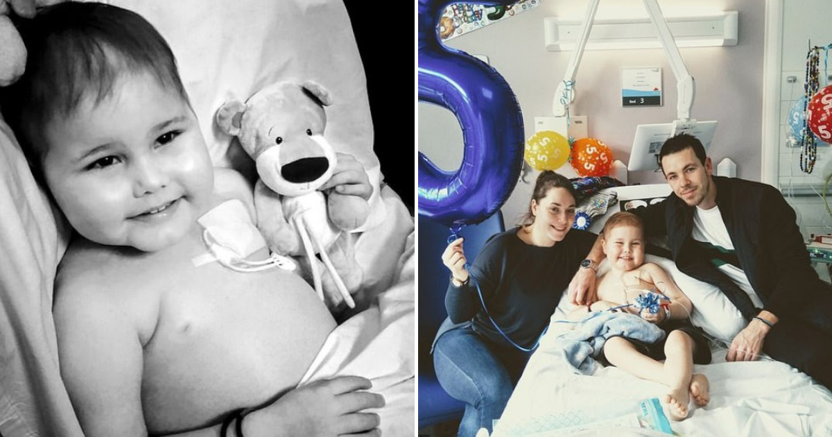 oscar6.png - 5-Year-Old Boy Undergoes Lifesaving Transplant After Record Breaking 10,000 Donors Came Forward