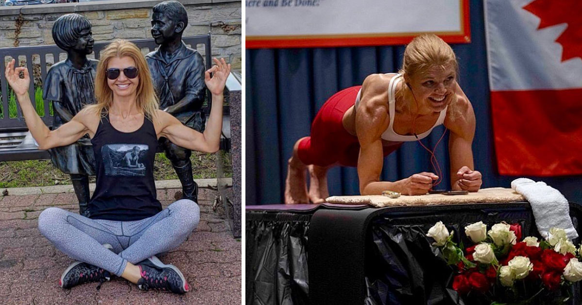 planking world record woman 4 hours.jpg - Yoga Instructor Broke Guinness World Record By Planking For More Than Four Hours