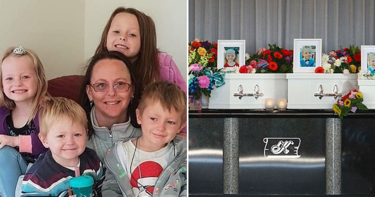 children4.png - Four Young Children Passed Away In Horrific Crash Were Laid To Rest, Murder Suspect Mother Would Have Separate Service