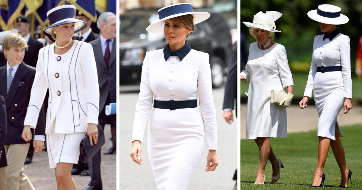 featured image 10.png - Melania Trump Paid Tribute To Late Princess Diana As She Arrived At Buckingham Palace