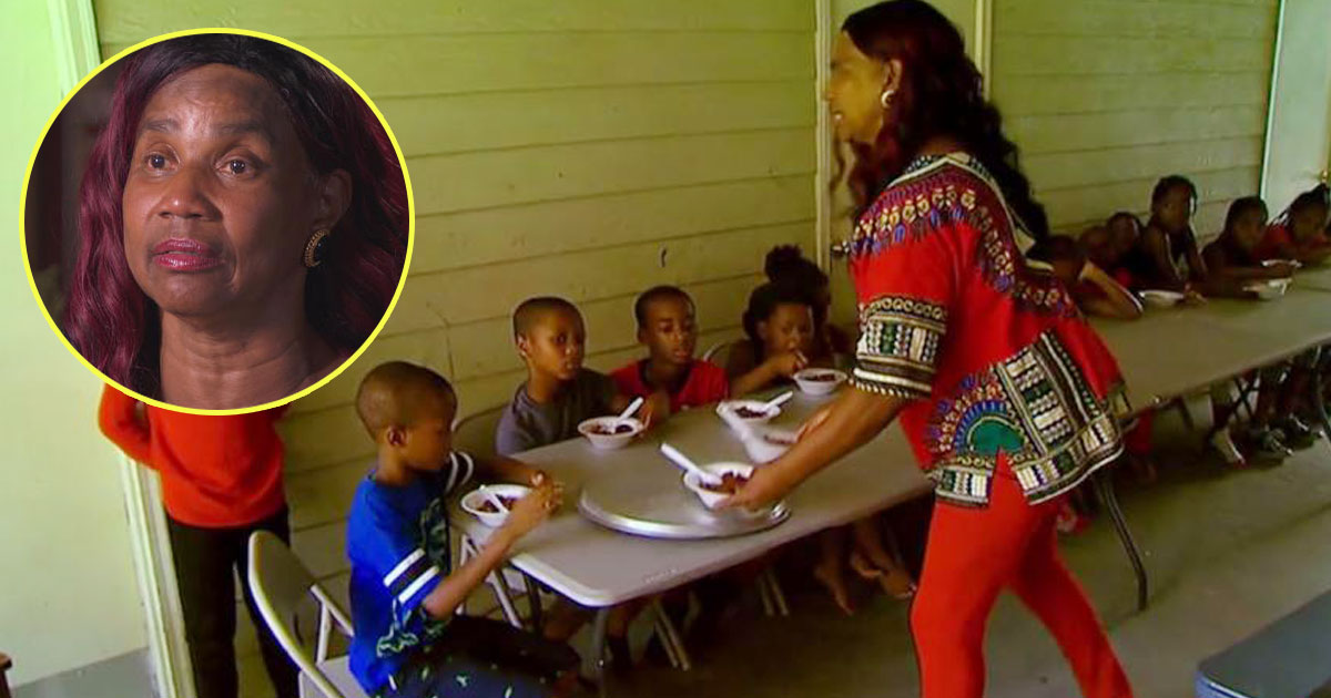 neighbourhood nanny.jpg - Woman Feeds Hungry Kids 7 Days A Week And Offers Free Rides To School