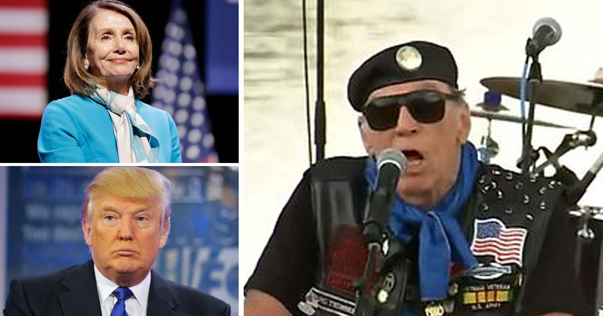 pelosi trump mueller.jpg - Co-Founder Of 'Rolling Thunder' Said Bikers Will Protest In Washington If Donald Trump Is Impeached