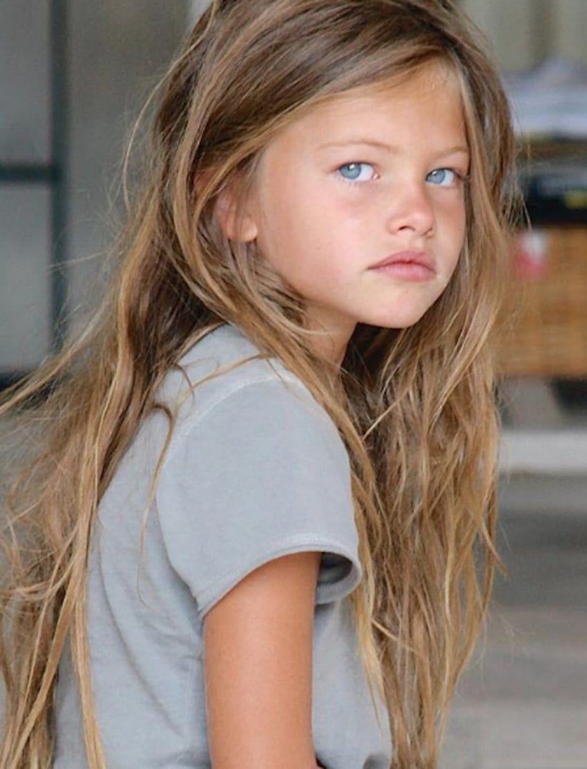 Worlds Most Beautiful Girl Thylane Blondeau Shows