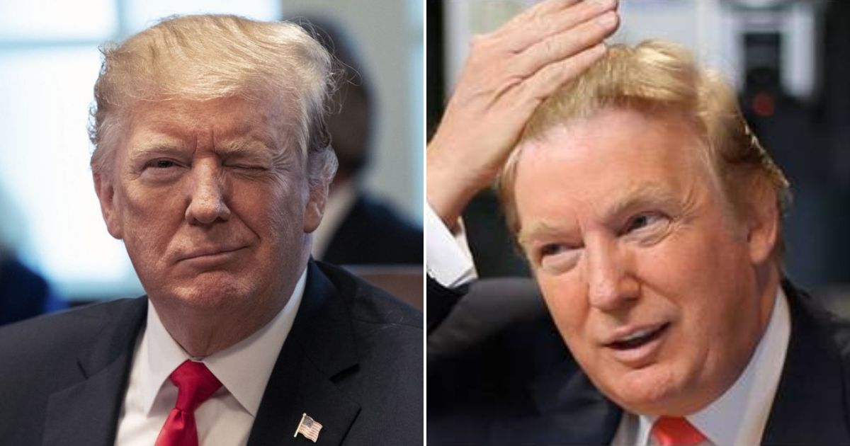 trump1.png - President Trump Shared His New Hairstyle And Almost Broke The Internet!