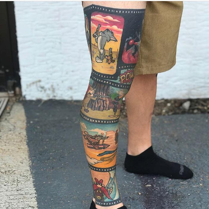 45 Inspiring Looking Leg Tattoos Full Of Imaginations Small Joys Bikin tatto pas di anunya. 45 inspiring looking leg tattoos full