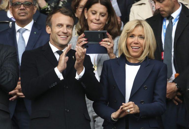 Resultado de imagen de Brigitte yEmmanuel Macron