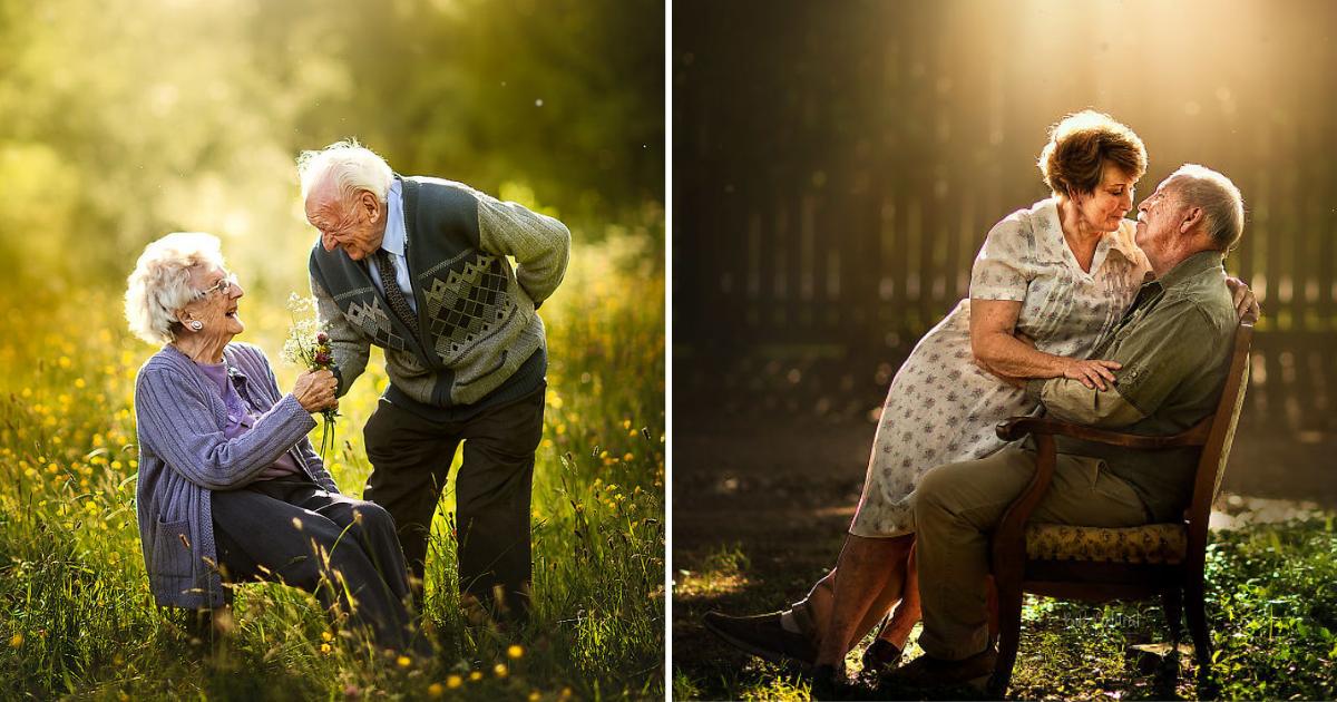eldery12 1.png - A croquer! Photos de fiançailles par des retraités