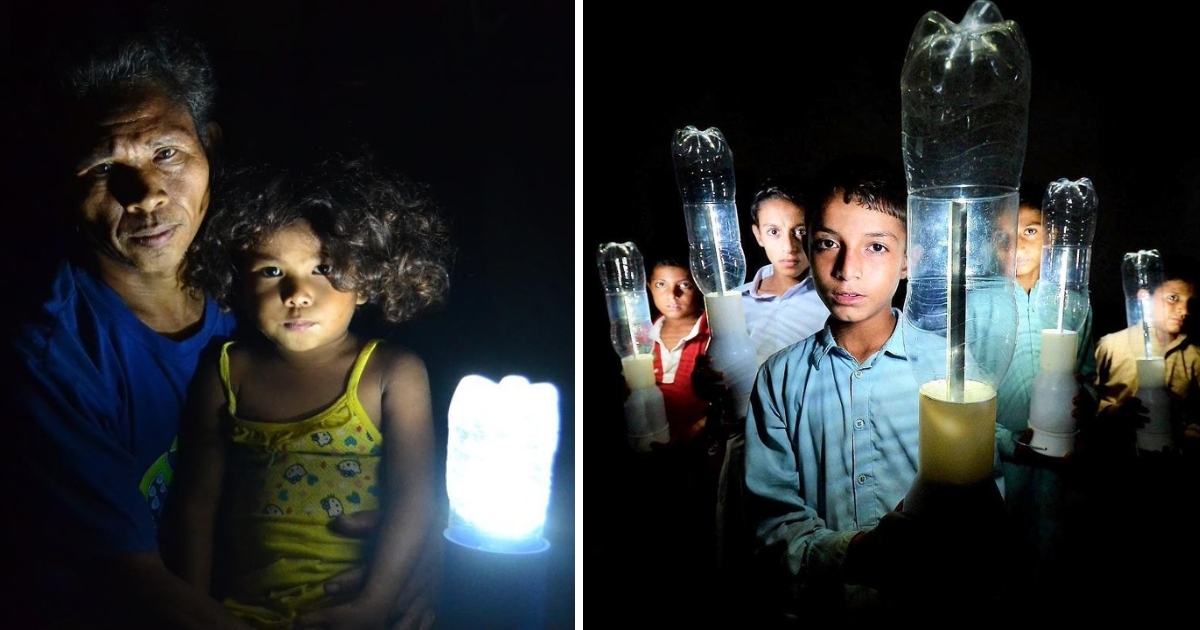 featured image 88.png - A Team Of Volunteers Brought Light To 350,000 Poor Households By Using Discarded Plastic Bottles