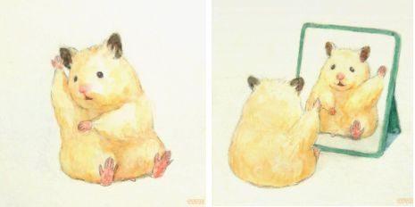 gdgdgdgdgdvsavava 5c485e97cb83a png  700 e1563086438535.jpg - Japanese Artists Draws His Pet Hamster's Life Doing Regular Human Chores - Adorable!