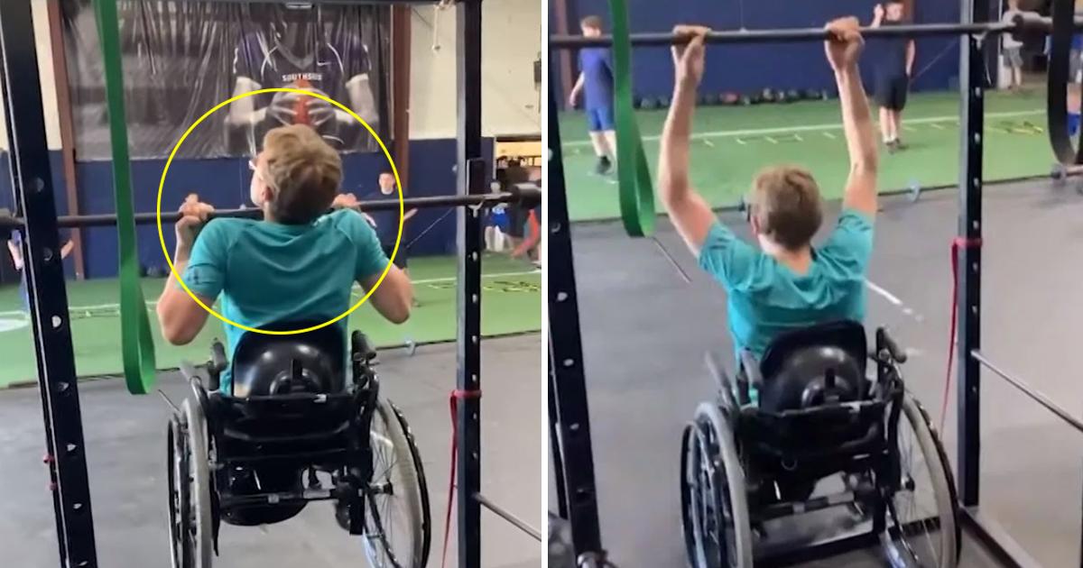 ghhhhsss.jpg - Ce jeune homme en fauteuil roulant a établi un record formidable en salle de sport