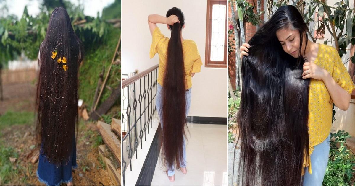 """h4.jpg - La """"vraie"""" Raiponce n'a pas eu de coupe de cheveux depuis 30 ans"""
