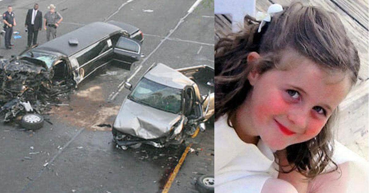 mother was heartbroken to see her daughter decapitated by seat belt after.jpg - A Happy Wedding Turned Into A Disaster When A Drunk Driver Crashed Into The Wedding Limousine