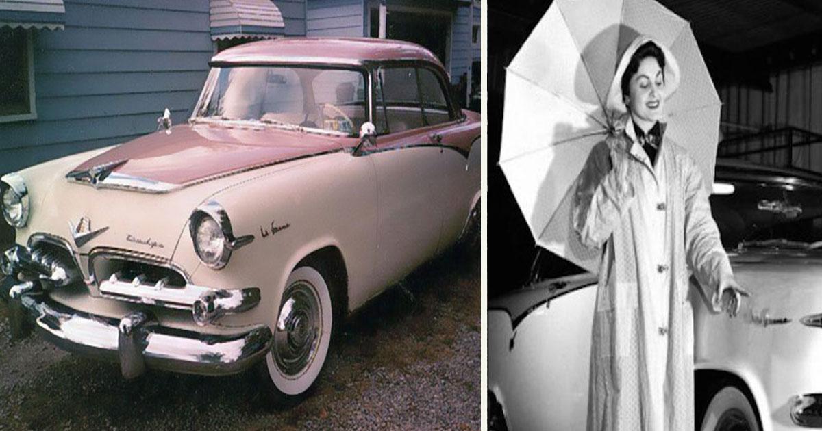 untitled 1 21.jpg - Cette Dodge La Femme fabriquée dans les années 50 avait été conçue spécialement pour les femmes