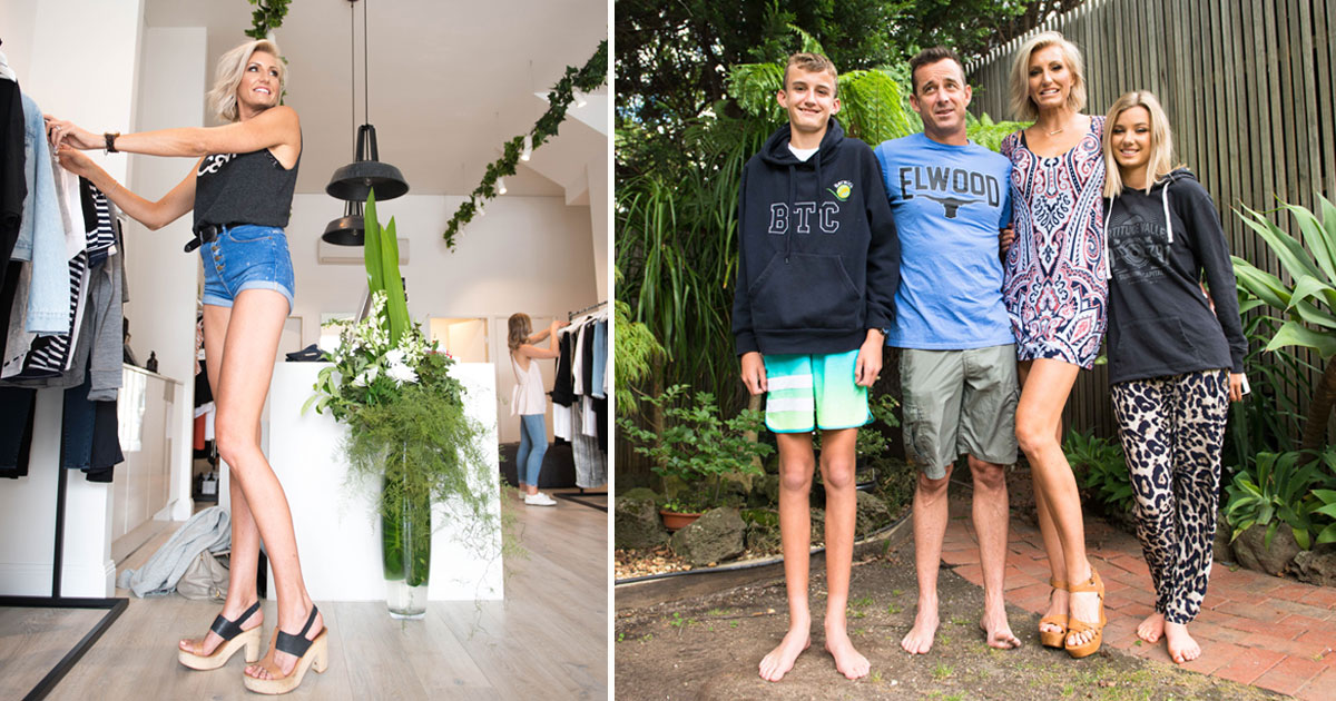 woman longest legs.jpg - Australian Ex-Model Has The Longest Legs That Measure 51.5 Inches From Hip To Heel