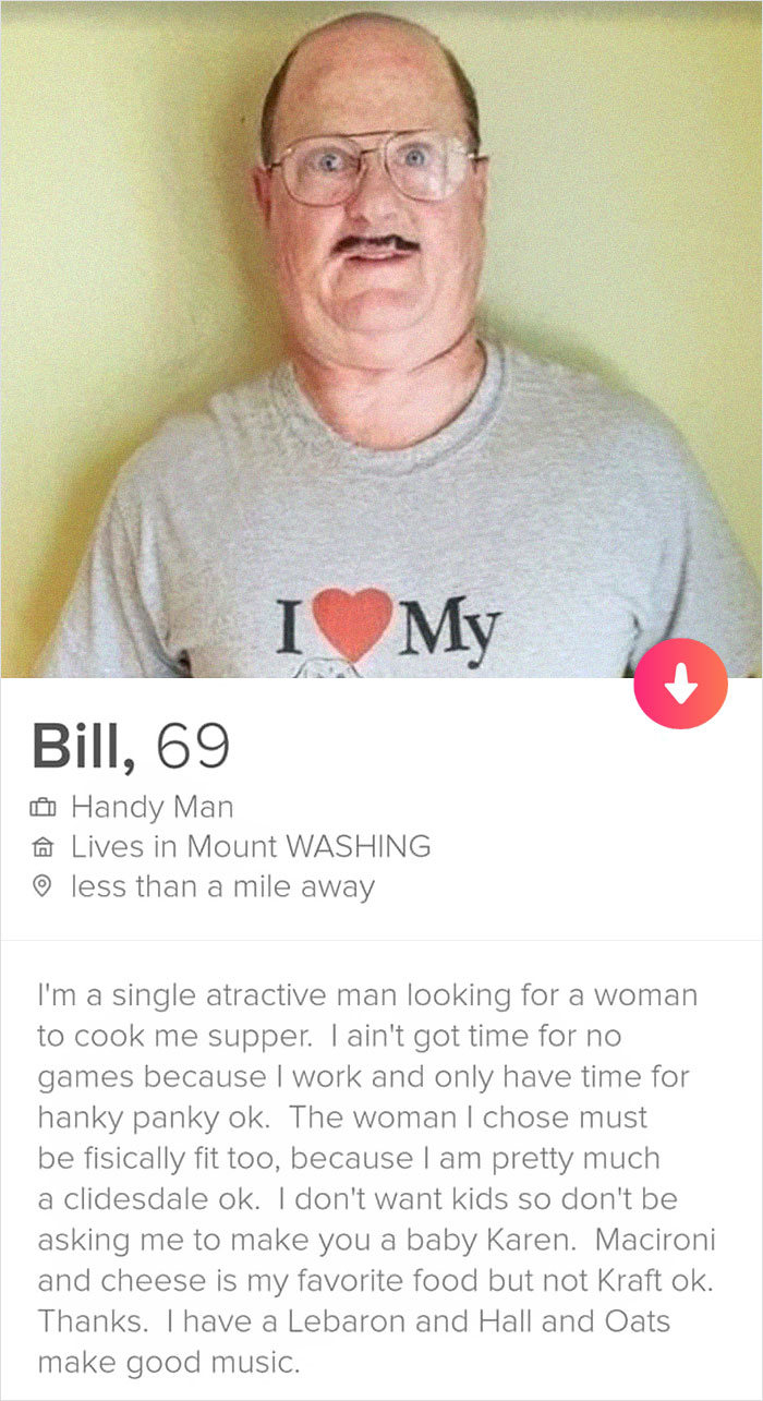 Fake profil tinder Are There