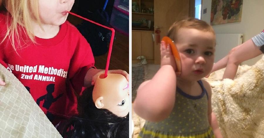 a3 20.jpg - 16 Fotos provando que ter crianças é bem melhor do que ir ao circo