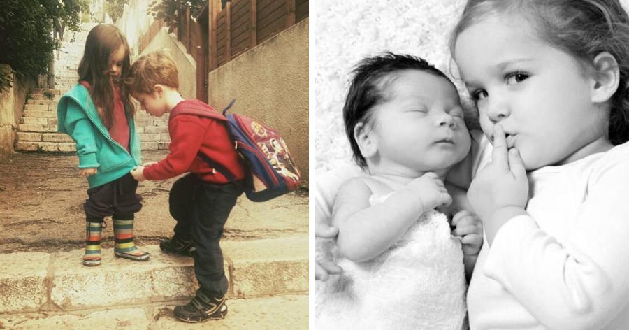 a9 1.jpg - 20 Fotos que mostram a alegria de ter irmãos e irmãs
