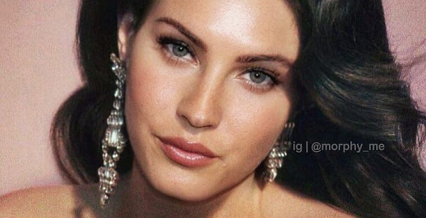 french artist combines the images of two celebrities in one and the result is perfect 5cad93aad18a3  880 e1564819871229.jpg - 30 Attractive Visual Created By Merging Different Faces Of Celebrities