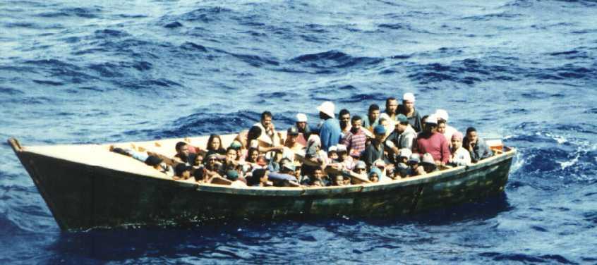 migrants.jpg - 30 réfugiés, qui étaient bloqués sur le navire Gregoretti, vont être accueillis par la France