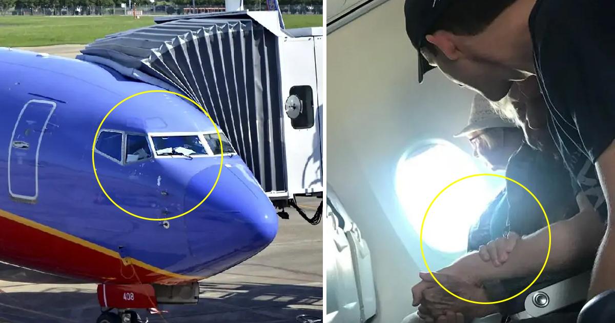 sdfsdfsd.jpg - Une femme raconte qu'un passager a réconforté une femme de 98 ans pendant un vol en avion