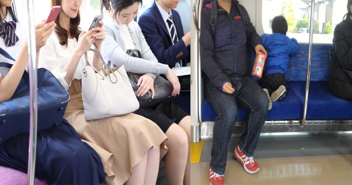 train.png - 電車で騒ぐ子ども…「静かにしなさい‼」は効果なし⁈近くにいた男性の「ひと言」で静まり返る