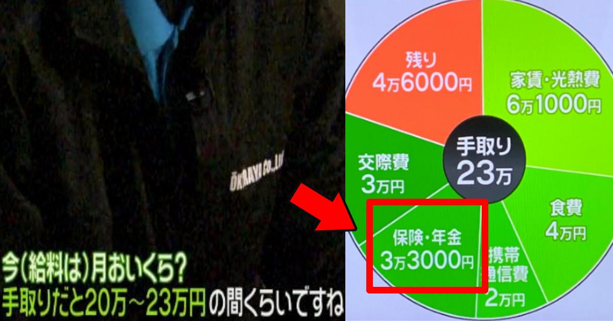 zero.png - news zeroで紹介された手取り23万円の男性の支出の内訳に違和感?ブラック企業説浮上!
