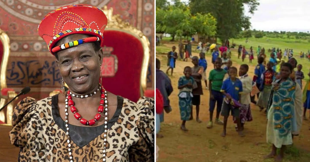 chief5.png - Woman Becomes Chief Of African Town And Immediately Annuls More Than 800 Child Marriages