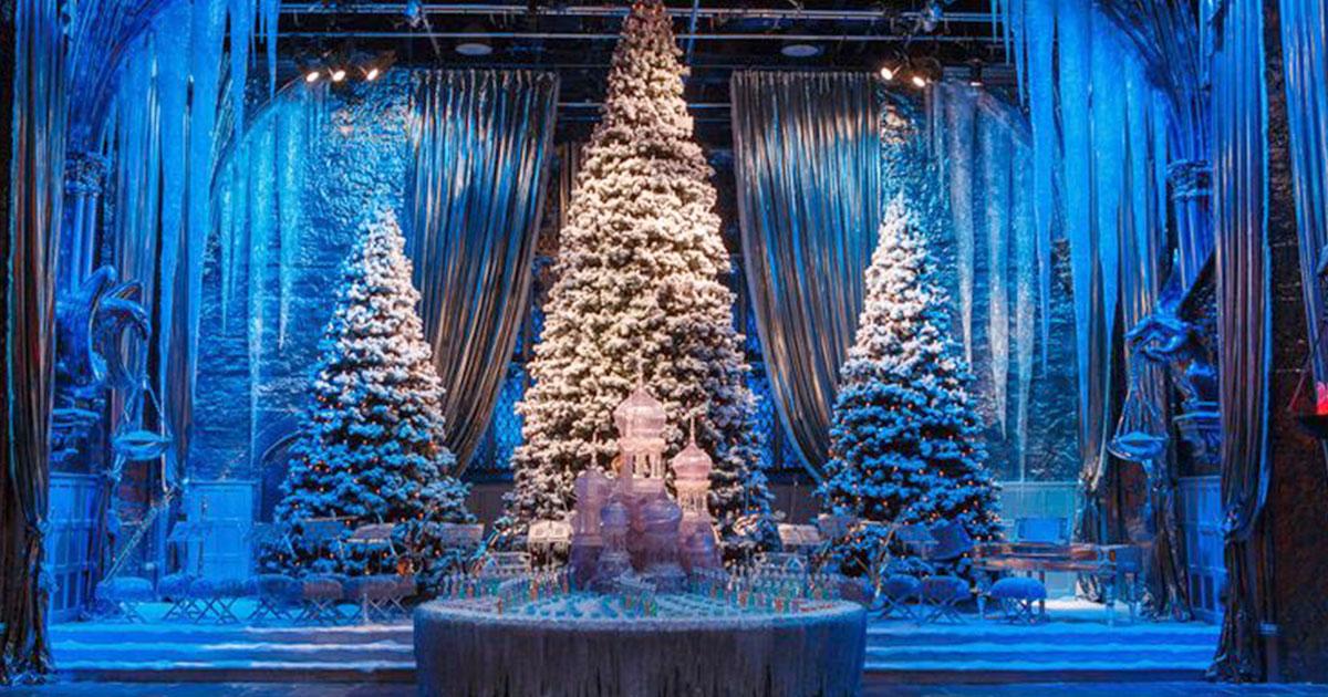 harry potter fans can have christmas dinner in hogwarts great hall again this year.jpg - Fans de Harry Potter : Pour Noël un dîner dans le grand hall de Poudlard sera donner