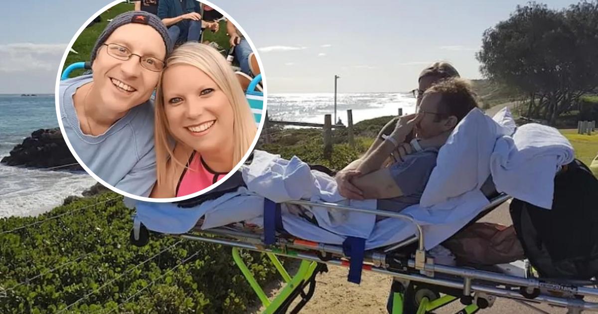 untitled design 2019 09 02t081608 316.png - Un homme mourant s'est effondré en larmes lorsque les ambulanciers ont réalisé son dernier souhait