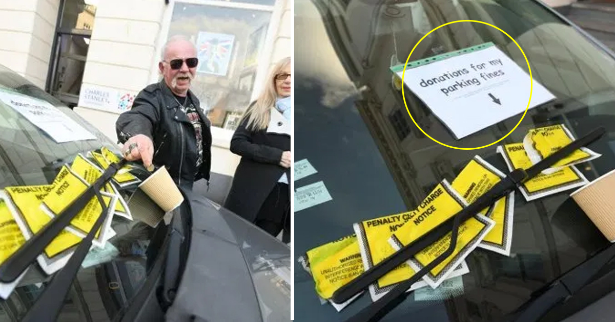 vssdf.jpg - Bold Driver Pasted A Note On His Car And Seeks Donation For His Parking Tickets