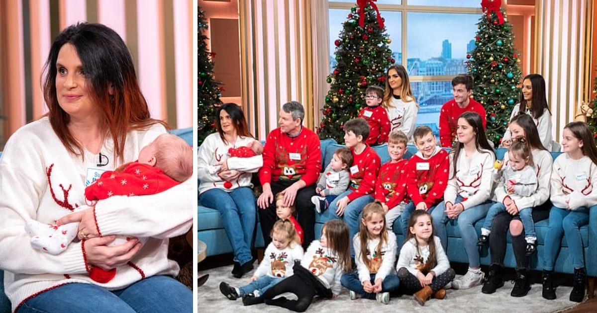 a 76.jpg - La plus grande famille de Grande-Bretagne s'agrandira encore plus avec le prochain vingt-deuxième enfant