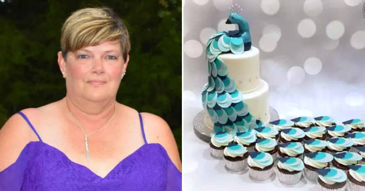 cake4.png - Bride-To-Be Orders Peacock Cake But Receives 'Lop-Sided Turkey With Leprosy'