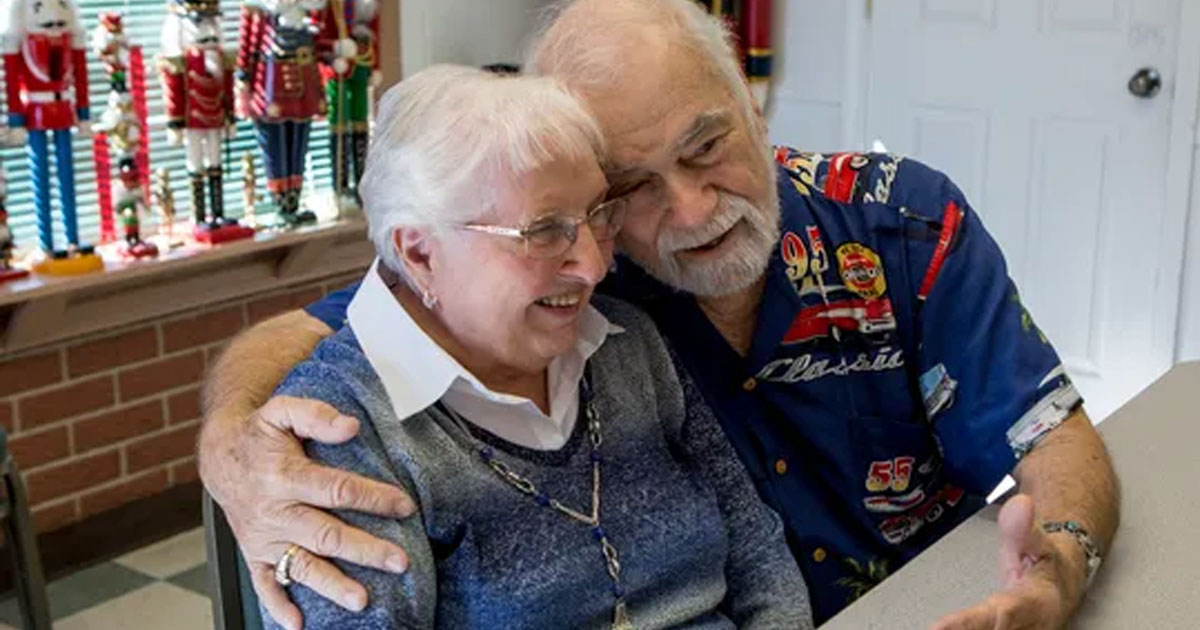 high school sweethearts reunited after 63 years of their separation and now getting married.jpg - High School Sweethearts Who Reunited After 63 Years Got Married
