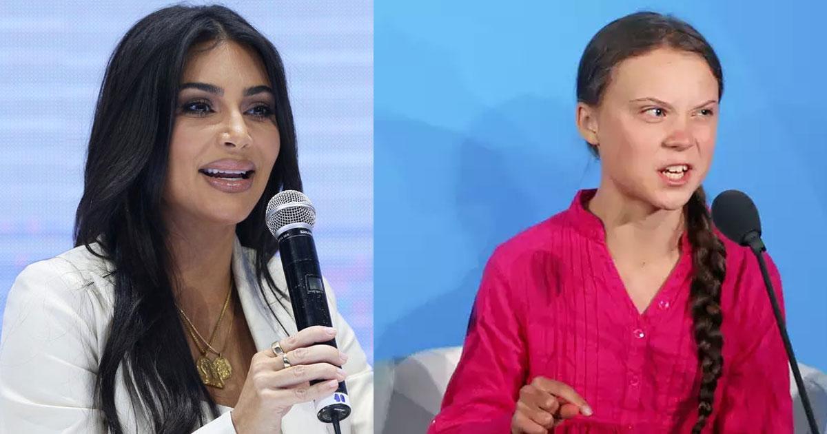 kim kardashian praised greta thunberg and said she would love her children to meet her.jpg - Kim Kardashian Praised Greta Thunberg And Said She Would Love To Meet Her