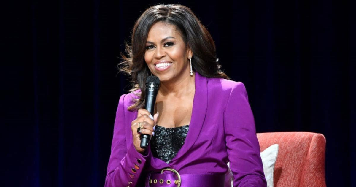 michelle obama 1.jpg - Michelle Obama To Release 'Becoming: A Guided Journal For Discovering Your Voice'