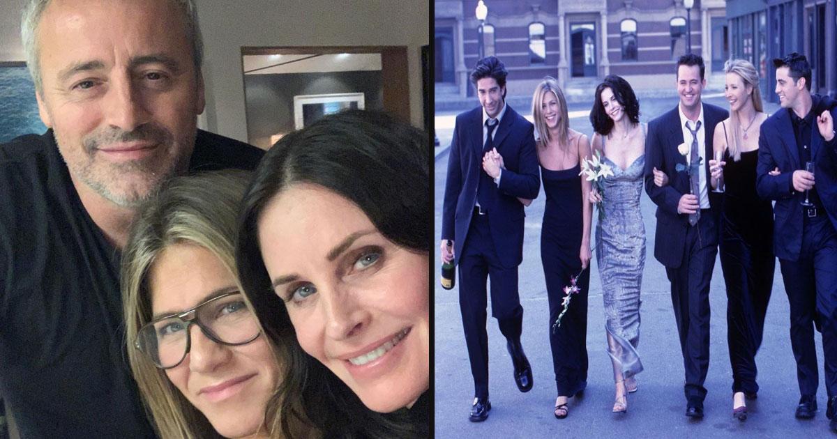 untitled 1 18.jpg - Courteney Cox, Jennifer Aniston And Matt Leblanc Reunited For A Rare 'Friends' Selfie