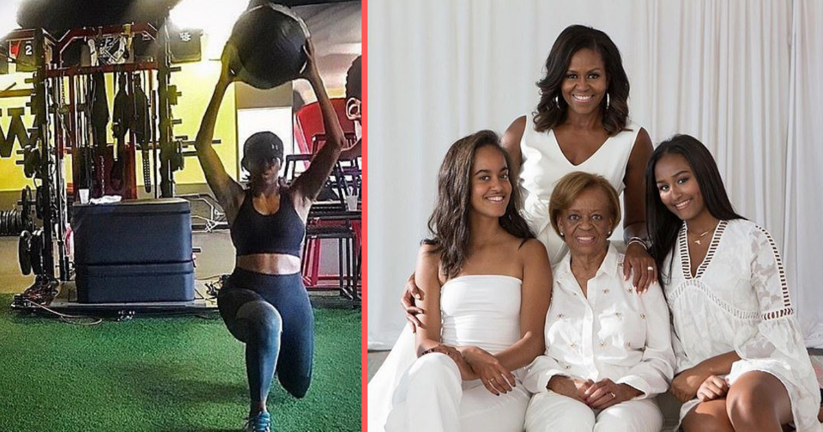 untitled design 1 16.png - Michelle Obama publie une photo pour inciter les femmes à faire plus de sport