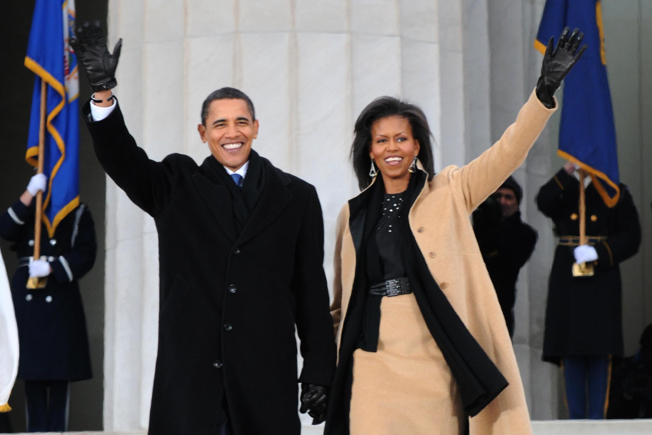 wikipedia.jpg - Michelle et Barack Obama : 27 ans de mariage