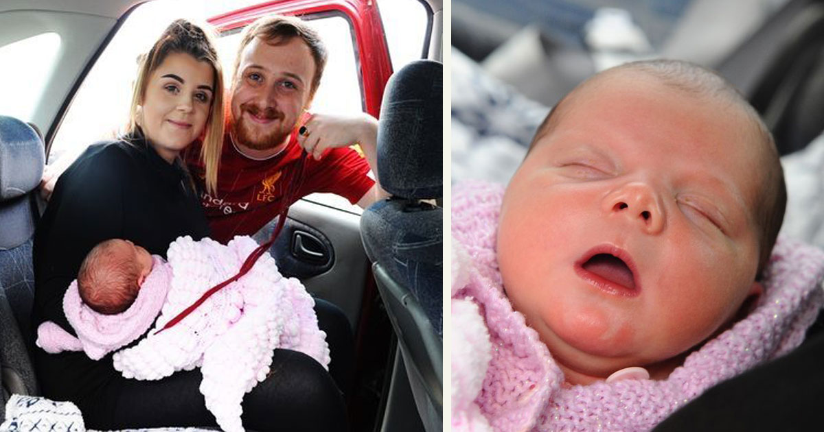 56.jpg - Hero Dad Saved Baby Girl's Life With A Shoelace As Mom Gave Birth In The Back Seat Of The Car