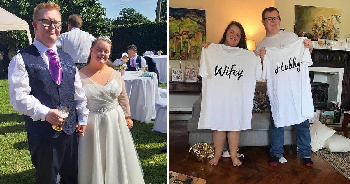 a 21.jpg - Mother's Pride As 26-Year-Old Son With Down's Syndrome Married His Sweetheart With The Same Condition