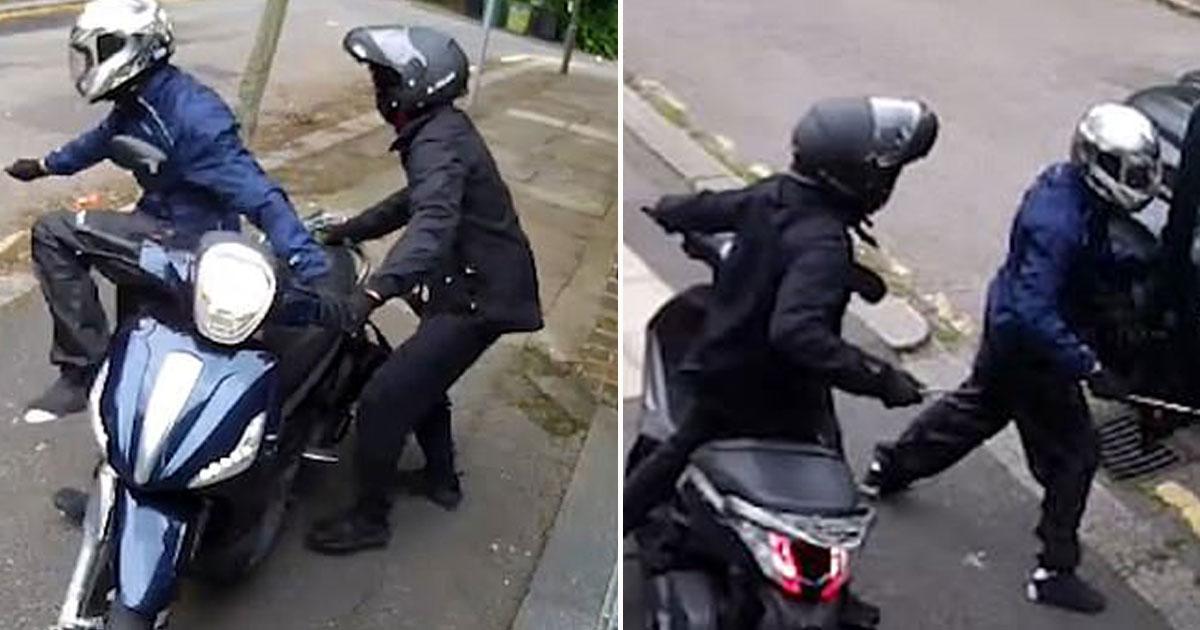 arsenal footballers arobbed.jpg - Les images d'une caméra de vidéosurveillance montrent deux voyous qui tentent de braquer les footballeurs d'Arsenal, Sead Kolasinac et Mesut Ozil