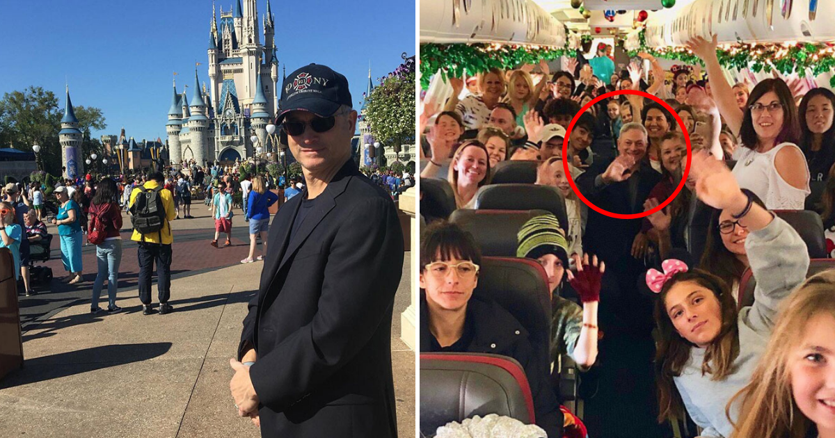 sinise6.png - Famous Actor Took More Than 1,700 Children Of Fallen Soldiers To Disney World