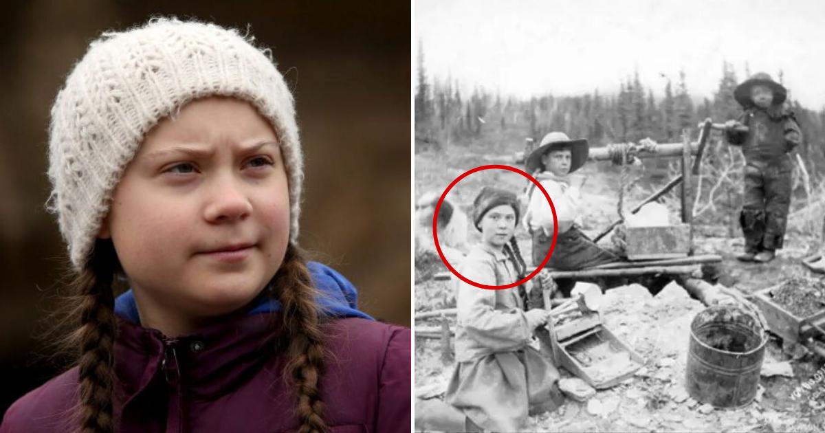 untitled design 56 1.png - D'après les théoriciens du complot, Greta Thunberg serait une voyageuse temporelle du 19e siècle