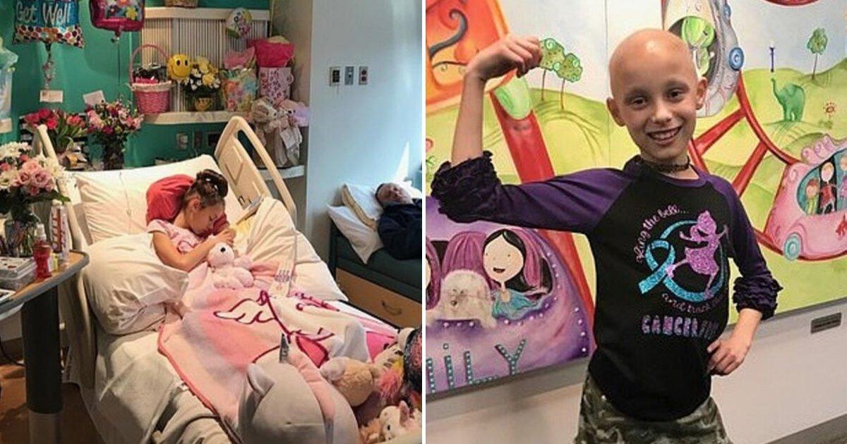 1 27.jpg - Niña De 9 Años Sale Orgullosa Después De Ganarle La Batalla A Un Tumor De Ovario