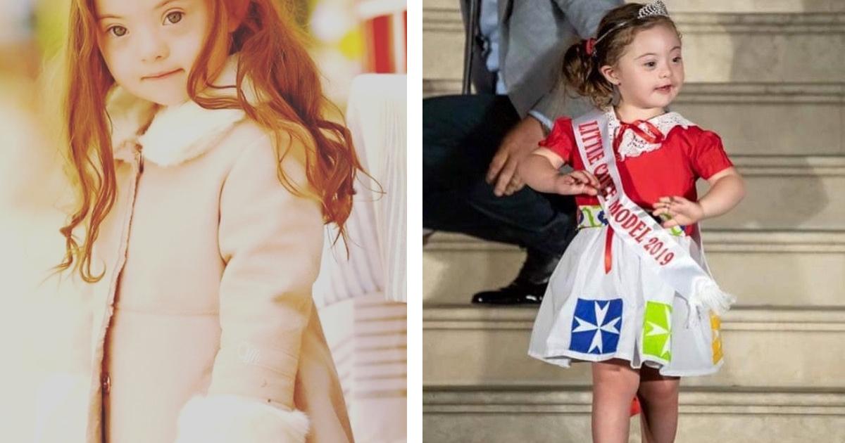 1 81.jpg - Ella Tiene 4 Años, Síndrome De Down Y Un Brillante Futuro Como Modelo