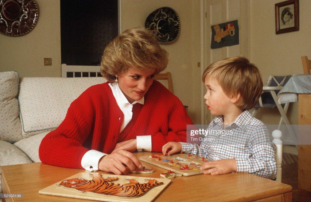 William Diana Puzzle : News Photo