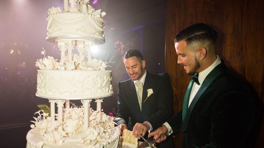Resultado de imagen de Marc Jacobs y Charly Defrancesco wedding