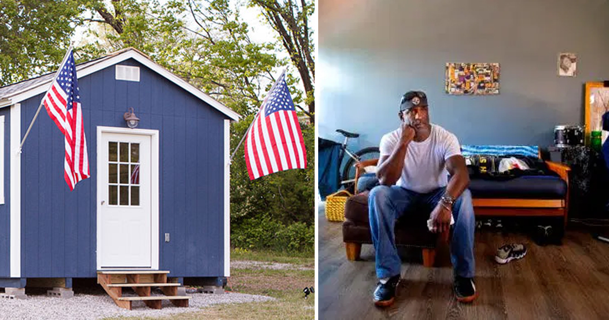 2 184.jpg - City Won't Let Veterans Stay Homeless — Builds Them A Village With Houses For Free