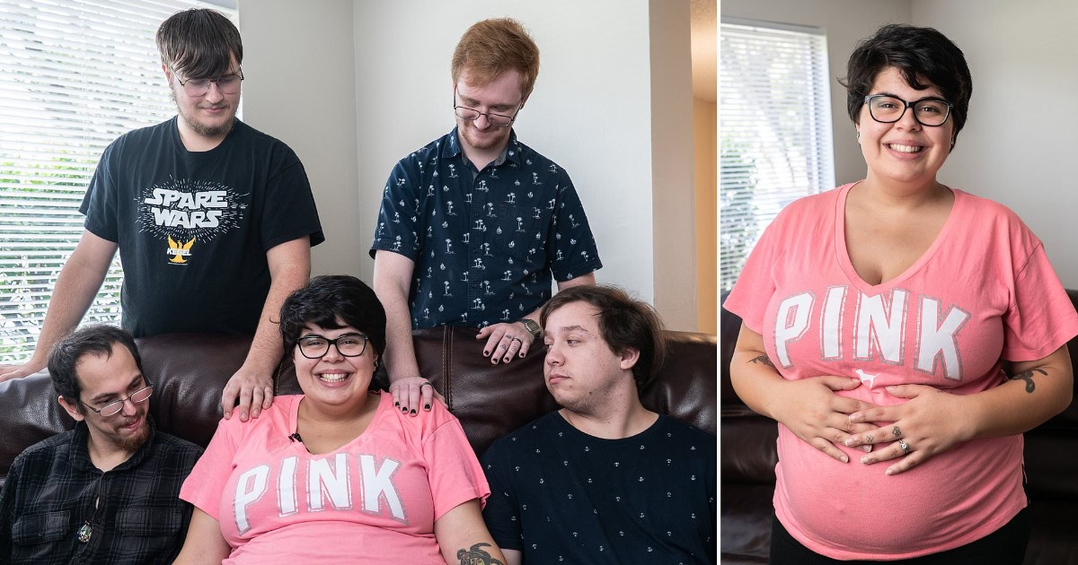 a 25.jpg - A Woman Who Lives With Her Four Boyfriends Is Expecting Her First Child