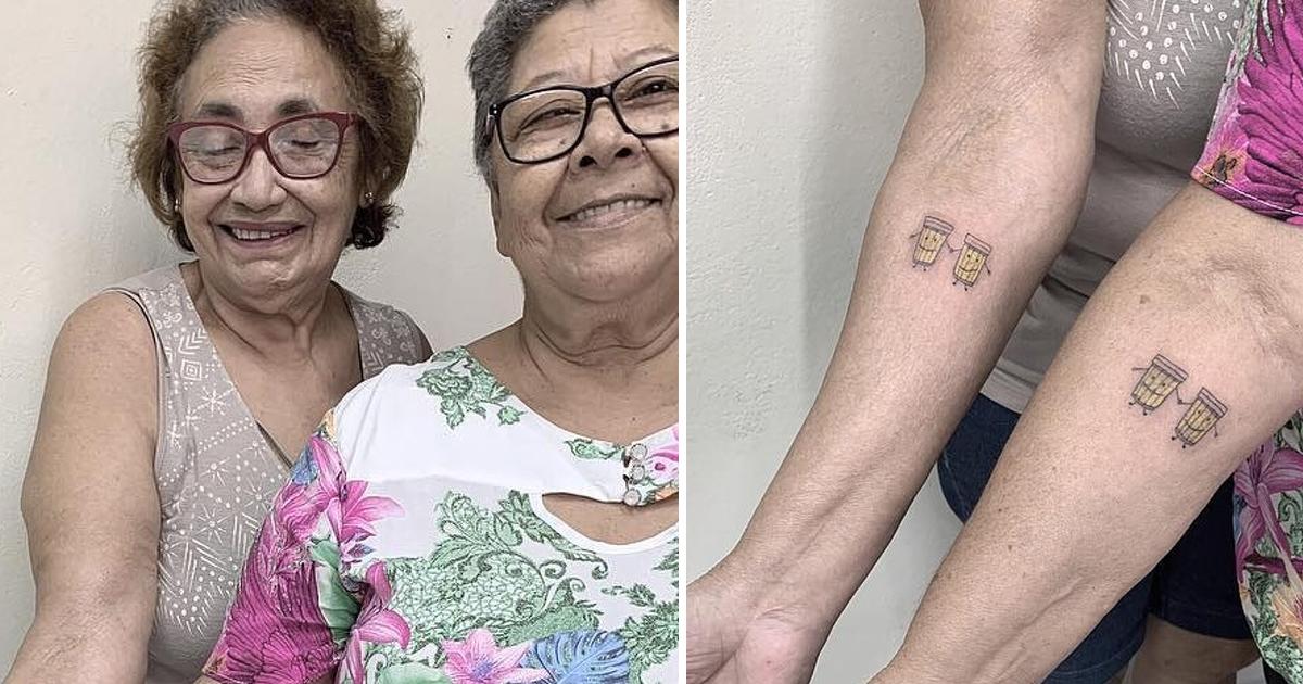 gsdgsdg.jpg - Two Women Celebrated Their 30-year Friendship Anniversary By Getting Matching Tattoos